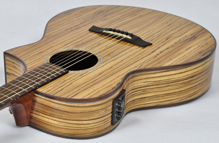 Ibanez Exotic Wood Aew40zw Review 2019 Guitar Lizard